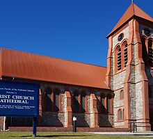Anglican Cathedral, Stanley, Falkland Islands by Geoffrey Higges