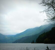 Lake Crescent by kchase