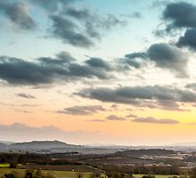 Meon Sunset by Paul Richards