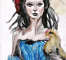 Dolce and Gabbana Model by sonatina28