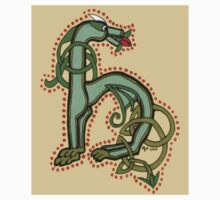 Celtic Oscar letter H Sticker by Donna Huntriss