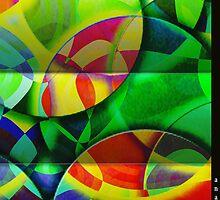 Fusion Color Circles No. 1  by AnaArt20