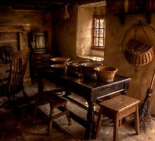 Thomas Bewick Cottage (Inside) by Andrew Pounder