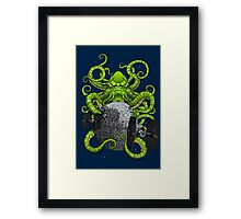 Cthulhu Strikes Back Framed Print