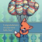 Congratulations on your new baby boy! by Micklyn2