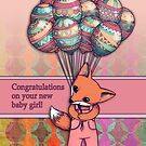 Congratulations on your new baby girl! by Micklyn2