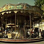 Dark city carousel by danielasynner
