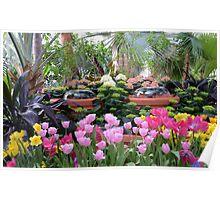 Spring Flower Show Poster