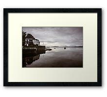 Crinan Bay Scotland Framed Print