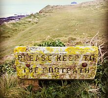 Please Keep to the Footpath by dougshaw
