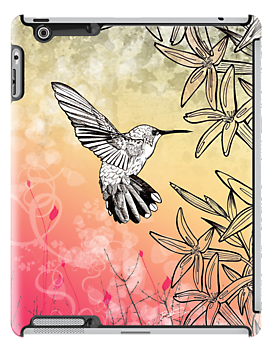 Humming Bird Ipad Case by bsoti