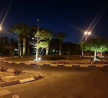 No Traffic Lights In Arad by Michael Redbourn