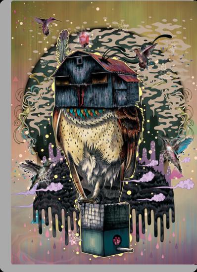 The Barn Owl Fortune Teller by MatMiller