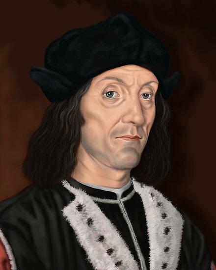 Henry VII by marksatchwillart