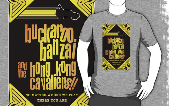 Buckaroo Banzai 2011 Tour - Yellow Version 2 by Hedrin