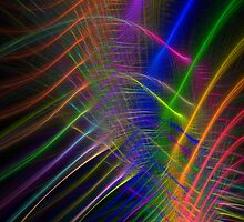 Fibre Optic Rainbow by Kazytc