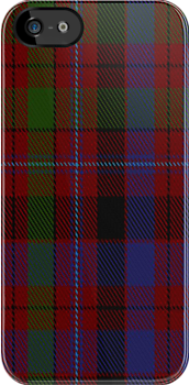 02261 Unidentified Cant #06 Tartan Fabric Print Iphone Case by Detnecs2013