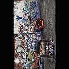 Graffiti Wall3 by Dan  Wampler