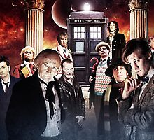 All Eleven Doctors by TLinehan
