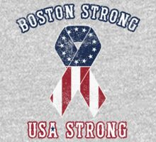 Boston Strong, USA Strong by DCVisualArts