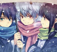 Gintama - Scarves by banafria