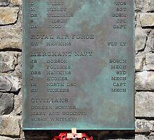 1982 War Memorial, Stanley, Falkland Islands by Geoffrey Higges
