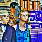 Shop Window In Watertown by EBArt