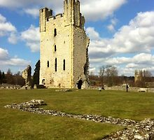 The Keep at Helmsley Castle by SeasideDweller