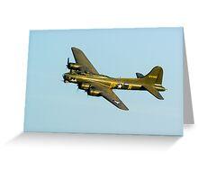 Boeing B17 Sally B Greeting Card