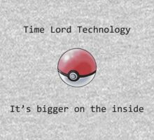Time Lord Technology Pokeball Kids Clothes