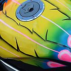 airbrushed petrol tank by perggals