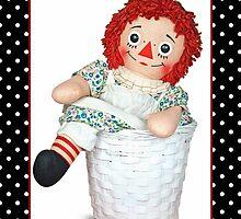 Raggedy Ann Doll by Maria Dryfhout