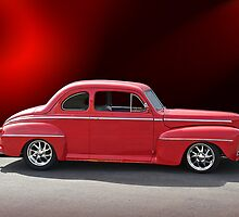 1947 Ford Deluxe Coupe by DaveKoontz