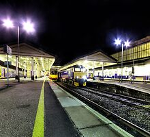 Exeter St Davids by Night  by Rob Hawkins