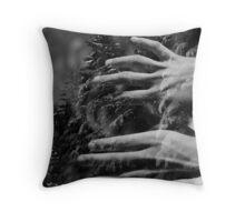 my winter bird Throw Pillow