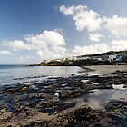 The Beach at Portscatho  by Rob Hawkins