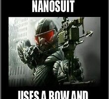 Crysis 3 joke poster by balestrieri5