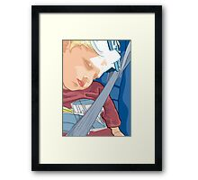Happy Sleeping Child Framed Print