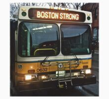 Boston Strong MBTA Bus by TWCreation