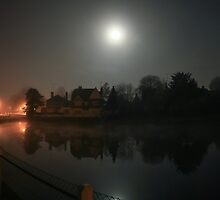 Early Morning Fog - Lindfield Village Pond #2 by Matthew Floyd