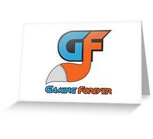 Gaming Furever Logo Greeting Card