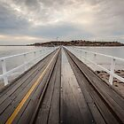 Across the Bridge - Granite Island, South Australia by DestnUnknown