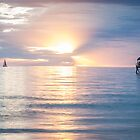 Sunset- Henley Beach, Australia by DestnUnknown