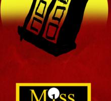 Miss Zygon (Red) Sticker