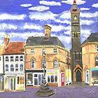 Louth Clock Tower Lincs. by CreativMichelle