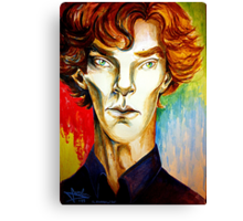 Sherlock: A Study in Colour Canvas Print