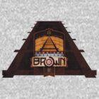 VINTAGE AMERICAN BROWN BEER. by BIG-DAVE