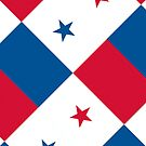 Iphone Case - Flag of Panama - Diagonal by Mark Podger