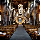 Llandaff Cathedral Cardiff Wales by mlphoto