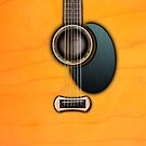 Acoustic Guitar  parts v1 iPhone & iPod Cases  by goodmusic